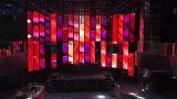 Glänzende anhebende LED-teleskopische Spalte für Wein-Stab-Stadium (YZ-P658)
