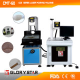 CO2 Laser-Markierungs-Maschine für Schuhe mit Synrad Metallgefäß