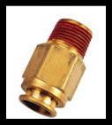 Racor Automático Metálico Adaptador para Manguera de PU (milimetros)