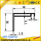 frame de painel solar de alumínio anodizado 6063t5 da extrusão de alumínio
