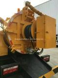 Dongfeng 4X2 물 청소 차량 8000 L 하수구 흡입 진공 탱크 트럭