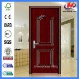Lisser la porte en bois moulée de mélamine (JHK-MD08)