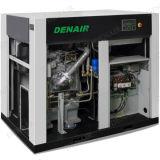 Compresor de aire sin aceite silencioso industrial del tornillo del aire/acondicionado de 45 kilovatios