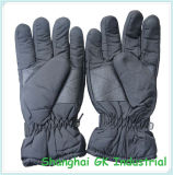 Черные перчатки зимы снежка перчаток катания на лыжах Mitorcycle& перчаток