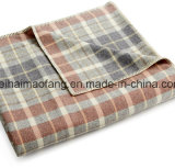 良質の編まれた純粋なMerinoウール毛布