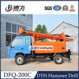 200m Truck Mounted Water Well Drilling Rig für Hardrock
