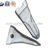 OEMによって失われるワックスの鋳造のスプロケットのExcvatorのバケツの歯の予備品