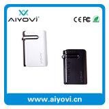 Côté mobile portatif de pouvoir avec l'écouteur de Bluetooth intégré