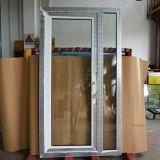 Porte blanche Kz186 de tissu pour rideaux de profil de la couleur UPVC