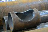 Machine élevée de Cutting&Beveling de plasma d'acier en forme de tuyau de commande numérique par ordinateur de définition de 5 axes