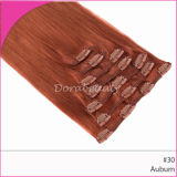 Piano Colored Clips Hair Brazilian Hair Extension