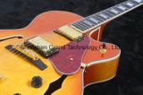 Guitarra Sunburst do jazz do clássico L-5