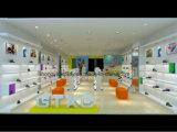 子供の店のためのカスタマイズされた高い等級の靴および衣服の表示棚