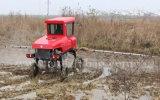 Pulverizador automotor do crescimento da névoa do TGV do tipo 4WD de Aidi para o campo e a exploração agrícola de almofada