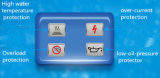 groupe électrogène 120kw/150kVA diesel avec le système de protection quatre intelligent