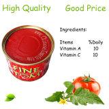 Hochwertiges Tomatenkonzentrat-eingemachtes Tomate-China-Tomatenkonzentrat 28-30%