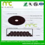 Laminage de PVC/film transparent/flexible/bande/impression