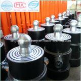 Cilindro telescópico do petróleo hidráulico de maquinaria agricultural