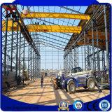 Structure métallique préfabriquée de grande envergure pour la construction d'atelier