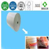 Einzelnes seitliches PET überzogenes Cup-Papier für einmalige Papiercup