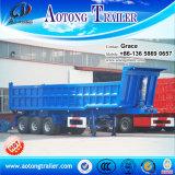 Трейлер сброса гидровлического цилиндра трактора Axles 20-40cbm фабрики 3 Китая, наклоняя трейлер, трейлер Tipper для сбывания