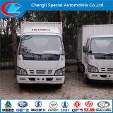 Il camion refrigerato alimento di vendita caldo di Isuzu, il camion del frigorifero dei frutti di mare da 5 tonnellate, Cina ha fatto il camion di raffreddamento dei pesci