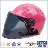 Het Halve Gezicht van de manier Dame Motorbike Helmet (HF318)