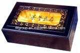 Scatola di di legno della finestra il tè puro di lusso del regalo
