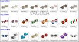 Botão de punho do desenhador das ligações de punho de VAGULA (Hlk31607)