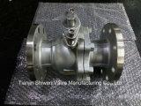 Q41f-16p/R/C 2PC flanschte Kugelventile ISO-Verweisen Befestigungsflansch