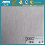 Scrivere tra riga e riga fusibile tessuto T4652 per la camicia