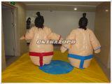 Type fait neuf jeux de lutte de jupe de sports de procès de sumo