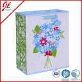 Sac à main en papier décoratif en papier Sac à provisions en papier floral