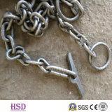 E. (DIN763/DIN764/DIN5685) brevemente corrente de ligação DIN766 galvanizada com certificado da fábrica