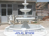 Natürliche Marmorabgestufter Brunnen des stein-3 für Garten u. Landcaping