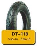 Neumático de la motocicleta de la calidad de la marca de fábrica del diamante y tubo interno de la fábrica realmente profesional