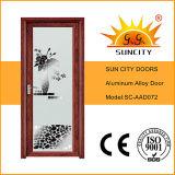 インドデザインアルミニウム浴室のドア(SC-AAD069)