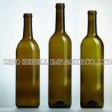 Bottiglia di vino di vetro del Bordeaux, sughero 200ml superiore, 375ml, 500ml, 750ml-L05