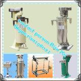 Máquina pura de la centrifugadora del petróleo de coco