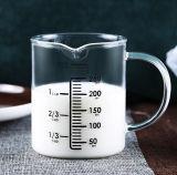 熱抵抗の透過ガラス計量カップ