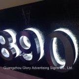 Cartas de canal bajas de acrílico del acero inoxidable 3D