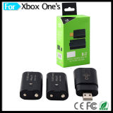 батареи одно 2PCS 400mAh перезаряжаемые + поручая гнездо для xBox одного & тонкого набора стыковки зарядки аккумулятора регулятора
