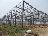 Construcción competitiva de la estructura de acero con Z600gram/Sqm galvanizado sumergido caliente superficial (CSSB-10100)