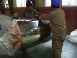 Bobina de aço galvanizada revestida zinco do Anti-Dedo (soldado)