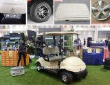 2つのシートの電気ゴルフカート