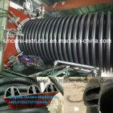 HDPE de Machine van de Productie van de Pijp van de Drainage met Hete het Winden Technologie