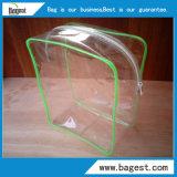 Sac à bandoulière en plastique réutilisable en PVC sac en plastique pour maquillage
