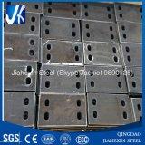Embase de acero para la construcción de acero con el orificio