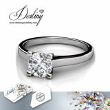 Het Kristal van de Juwelen van het lot van Swarovski van haar Ring