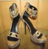 2016 sandali delle signore di estate dell'alto tallone di modo (HCY02-1672)